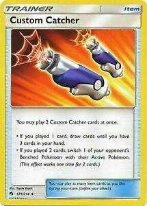 Custom-Catcher-171-214-Uncommon-Sun-amp-Moon-Lost-Thunder-Pokemon-TCG