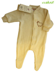 532957362 ENGEL Pajamas 100% MERINO WOOL baby newborn footed pyjama romper ...