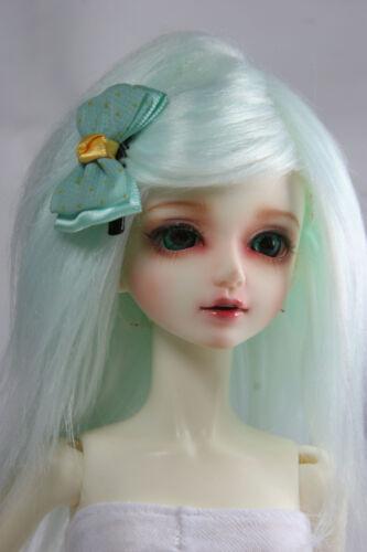BJD Doll 1//4 7-8 Wig Short Afro Hair Fabric Fur Wig for Boy Girl Green