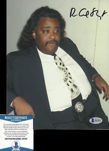 AL SHARPTON - CIVIL RIGHTS ACTIVIST LEADER - SIGNED 8x10 PHOTO K BECKETT COA BAS