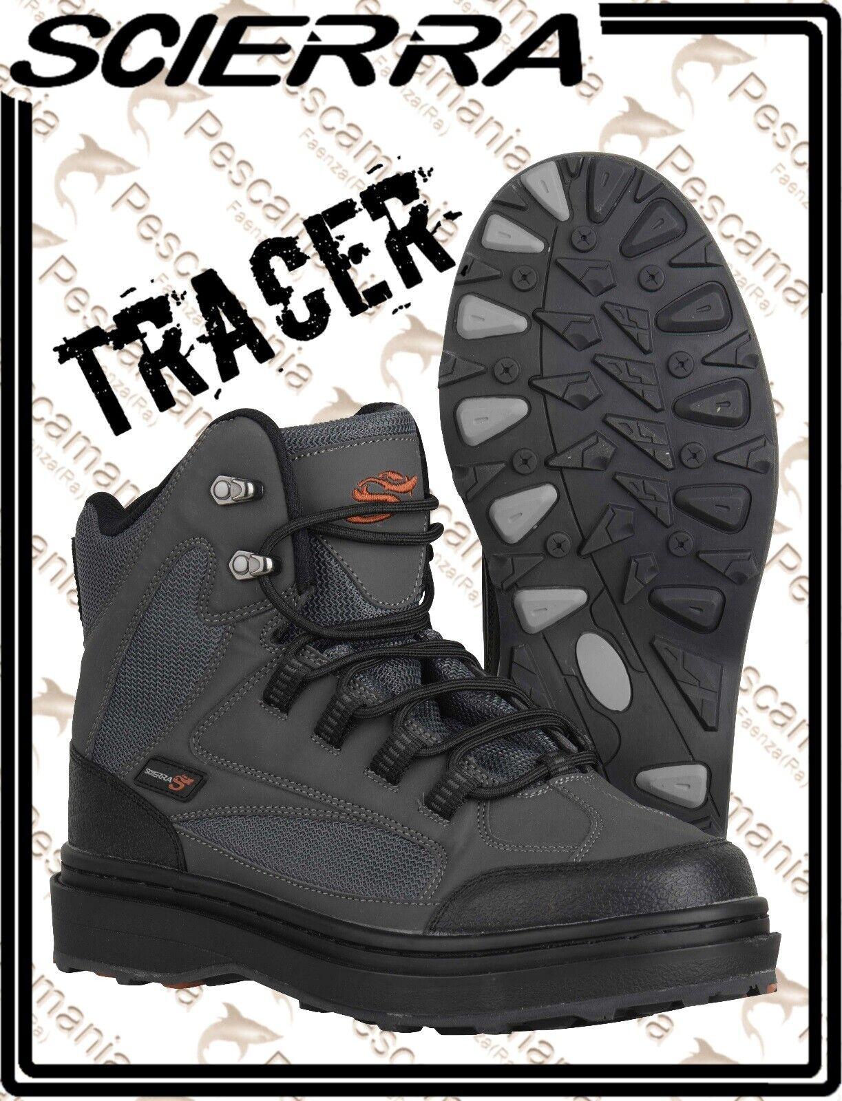 Scarpone da wader Scierra TRACER Wading scarpe gomma