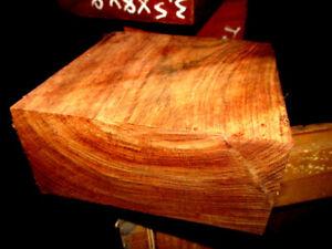 """Beautiful Chechen Turning Wood Bowl Blank Lathe 8/"""" X 8/"""" X 3/"""" Free Shipping!"""