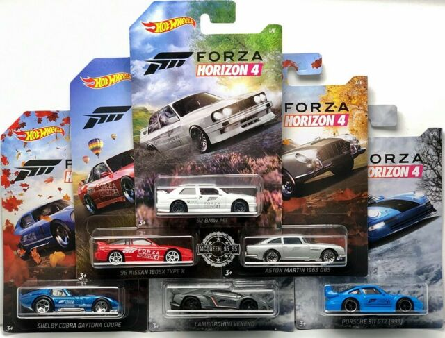 2019 HOT WHEELS FORZA HORIZON 4 COMPLETE SET OF 6. LAMBORGHINI, NISSAN, BMW +++