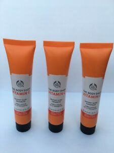 Details about Job Lot 3 x The Body Shop Vitamin C Instant Glow Engancer  25ml New
