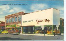 UNION,SOUTH CAROLINA-MODERN STORES ON MAIN STREET-LINEN-GRAHAM CASH-(STORE-209)
