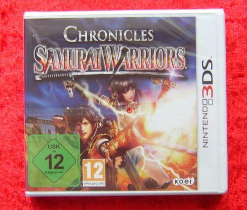 1 von 1 - Chronicles Samurai Warriors 3D, Nintendo 3DS Spiel, Neu, deutsche Version