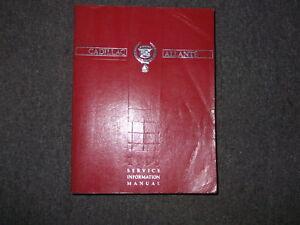 1990-Cadillac-Allante-tienda-servicio-de-reparacion-Taller-Manual-OEM-Factory