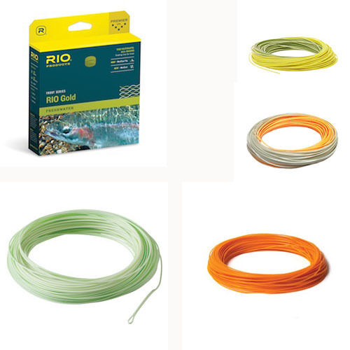 Rio gold Fly Line, New - with Free Shipping in US