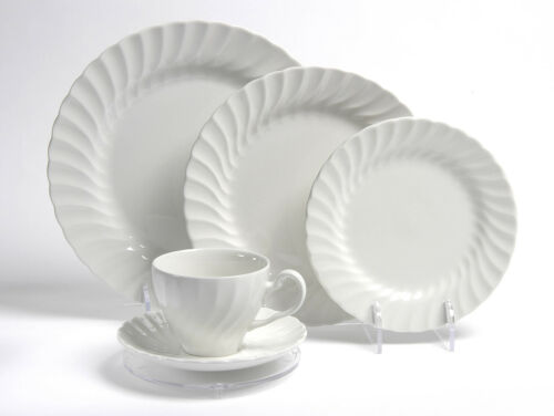 Saucer Side 3 /& 5 Piece Plate Dinnerware Place Setting Display Stand Cup