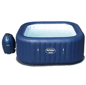 Bestway SaluSpa Hawaii AirJet 6 Person Portable Inflatable Spa Hot Tub 54155E