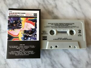 The Moody Blues Days Of Future Passed CASSETTE Tape London Nights In White Satin
