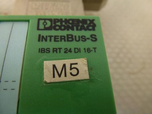 Phoenix Contact Interbus-S IBS RT 24 DI 16-T