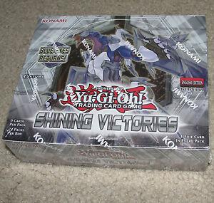 Yu-Gi-Oh Shining Victorys 1st Ed. Edition New Sealed Bo