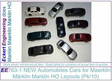 EE 763-1 Ten (10) New Automobiles Cars for Maerklin Märklin Marklin HO Layouts