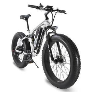 Cyrusher Xf800 1000w 48v Electric Fat Bike Full Suspension