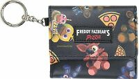 Five Nights At Freddy's Tossed Character Tri-fold Wallet & Key Chain