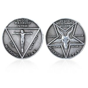 LUCIFER moneta da collezione serie tv lucifer morningstar