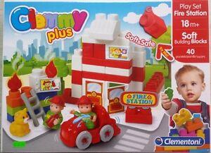 Clementoni 14928 – La Stazione del Treno – Clemmy Costruzioni Morbide