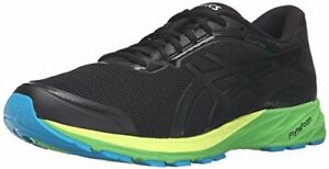 ff38795ee6d ASICS Men s Dynaflyte Running Shoe - BLACK ONYX GREEN - Size 6M US ...