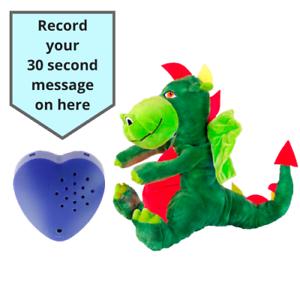 "40cm//40/"" 30 S//Baby Heartbeat Bear Dragon Vert-enregistrables Bear"
