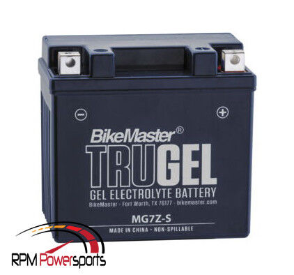 New BikeMaster TruGel Battery 2 Year Waranty Honda NPS50 S Ruckus 2007 2008 2009