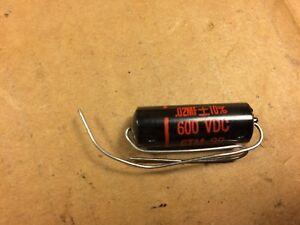 NOS Sprague Black Beauty .02 uf 200v Capacitor Vintage Guitar Tone Cap Qty Ava