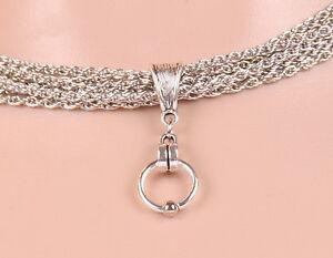 Halskette-BELLATRIX-Necklace-SM-Sklave-Ring-der-O-Kette-Fetisch-O-Ring-50004