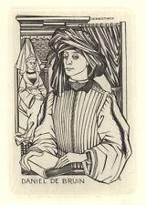 Ex Libris Lou Strik : Opus 83, Daniel de Bruin