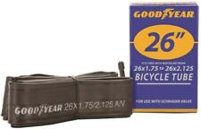 Goodyear Bicycle Tube for Bike Tire Wheel With 26 X 1.75-2.125 Schrader Valve
