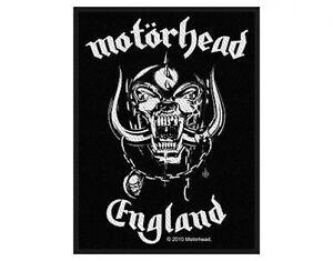 MOTORHEAD-england-original-2010-WOVEN-SEW-ON-PATCH-official-merchandise-LEMMY