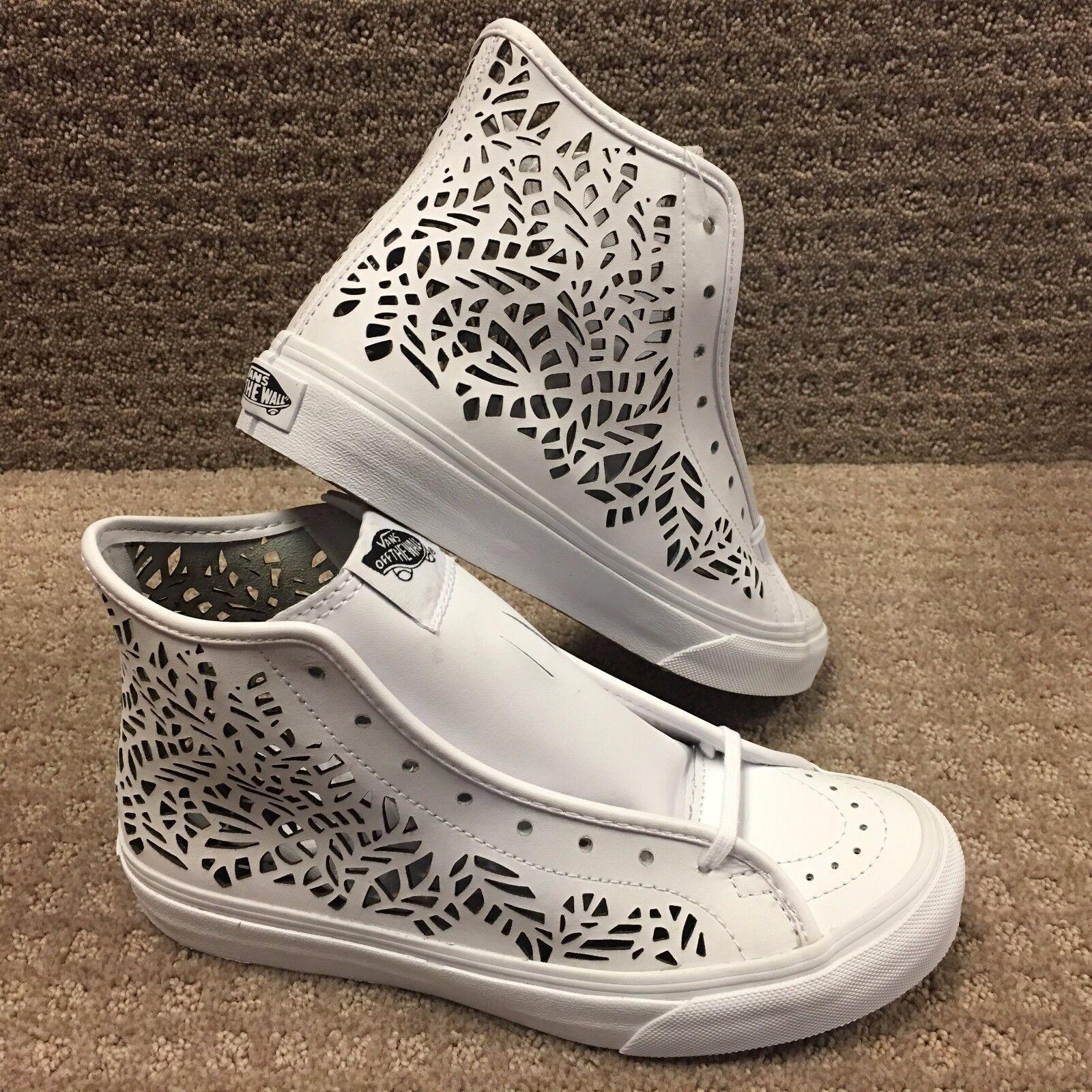 Vans Men's shoes  Sk8-Hi Decon  -- (Cut-Out) Leaves White