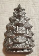 EUC Nordic Ware Christmas Tree Cake Bread Pan Mold 4.5 cups Made in USA