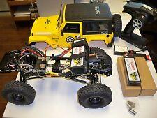 Custom RC 1/10 JEEP WRANGLER 4X4 METAL Rock Crawler SWB Short Wheel Base  *RTR*