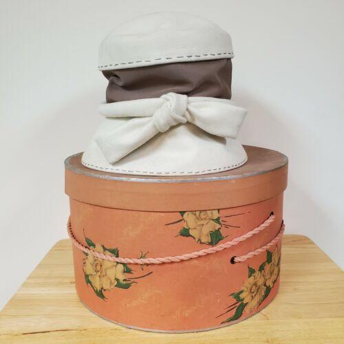 Vintage Nan Duskin Hat With Original Box, 60's or