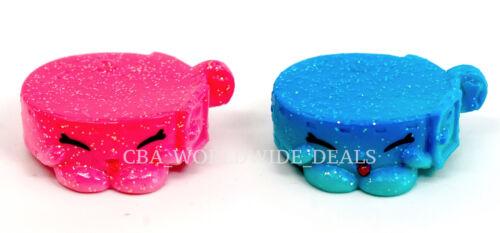 Pink /& Blue Ultra Rare LITTLE PET COLLAR Set of 2 NEW Shopkins Season 4