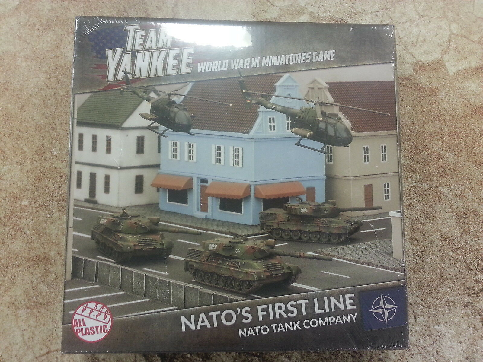TEAM YANKEE NATO`S FIRST LINE - 3 TANK & 2 HELICOPTERS - NEW AND SEALED