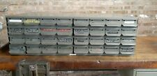 Real Equipto Usa 32 Drawers Unit Metal Parts Cabinet 17 Deep Drawers 8533