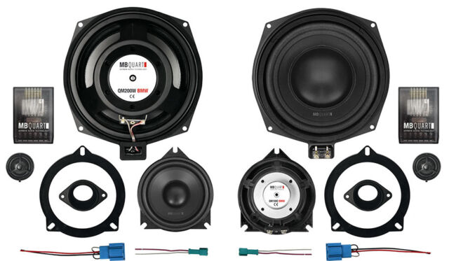 MB QUART QM200CBMW 3 Way Component Speakers to fit BMW 5 Series F10 F11