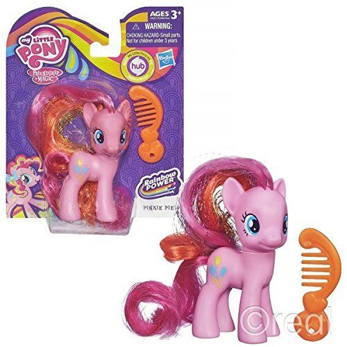 Rainbow Power Figures BT167-Pinkie My Little Pony Pinkie Pie Styling Doll