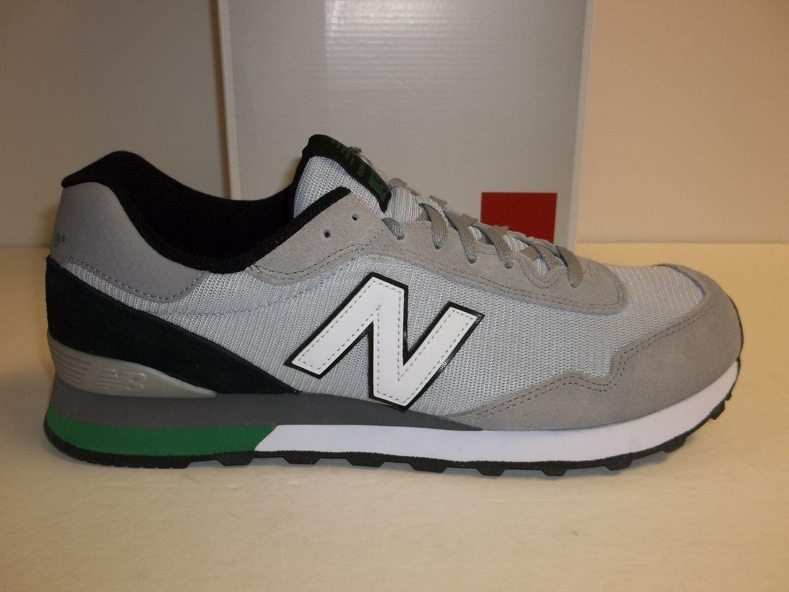 Tamaño 9 M Clásico New Balance 515 Tela Cuero gris Zapatillas nuevo Zapatos para hombre