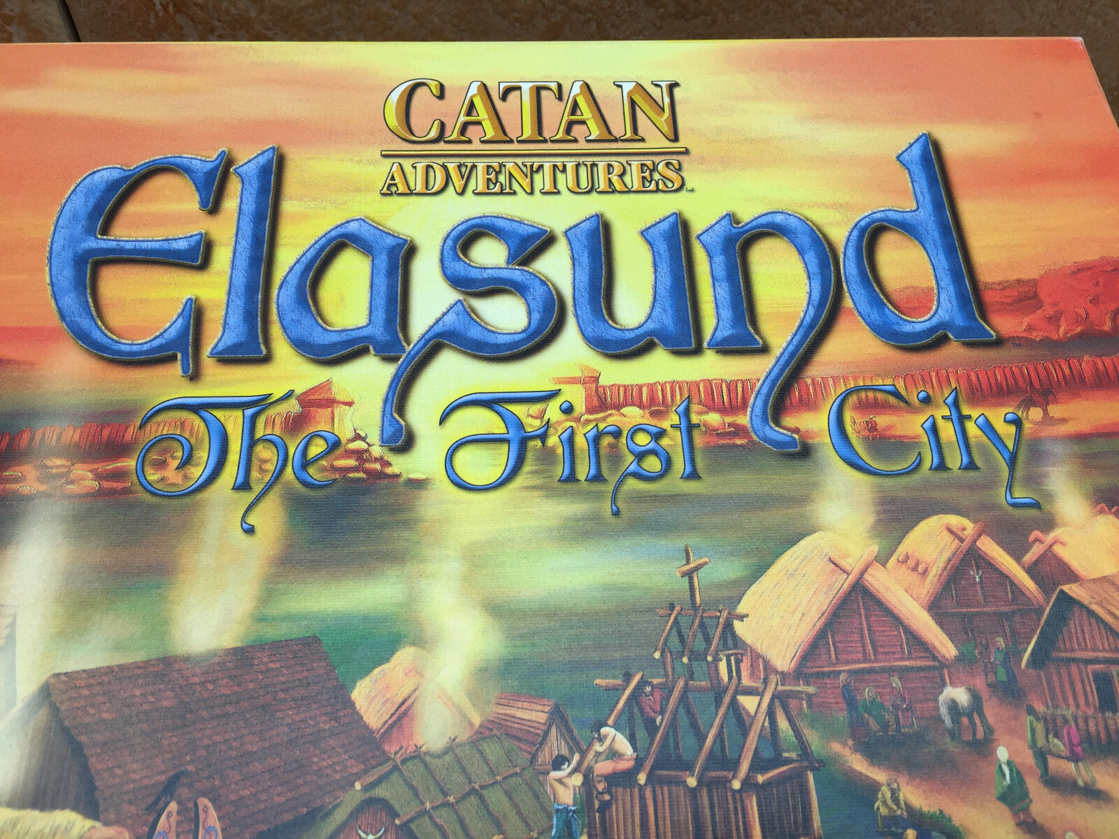 Elasund The First City Catan Adventures by Mayfair   Kosmos game is complete