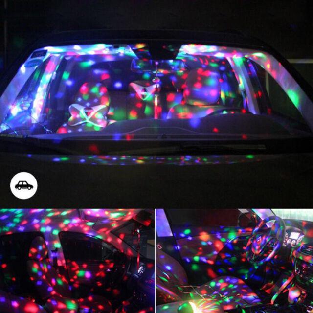 RGB LED Stage Light Lighting Crystal Magic Ball Effect DJ Disco Bar Party Club