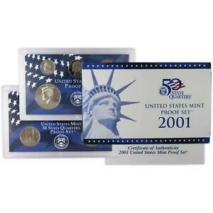 2001-S-U-S-Mint-Proof-Set