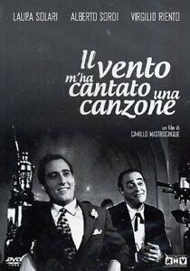 Dvd-Il-Vento-m-039-ha-Cantato-una-Canzone-1953-Alberto-Sordi-NUOVO