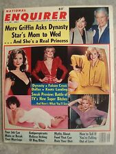 National Enquirer Magazine Dynasty, Falcon Crest, Dallas Knots Landing July 1985