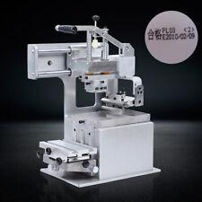 New Manual Pad Printing Machine Set Pad Printer Opened Ink Dish System 6565mm