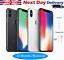 Apple-iPhone-iPhone-10-64GB-X-256GB-Desbloqueado-SIM-Telefono-Inteligente-Libre-Gris-Plata miniatura 1