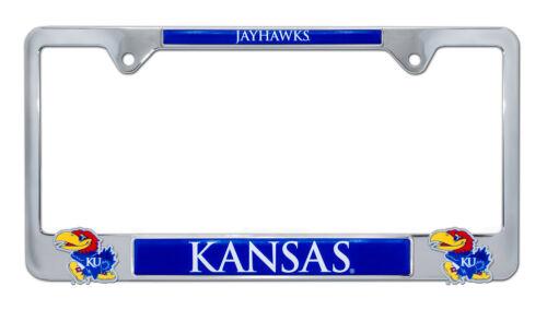 University of Kansas 3D License Plate Frame