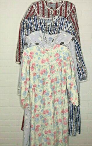 Vintage Women's Lanz of Salzburg Flannel Nightgown