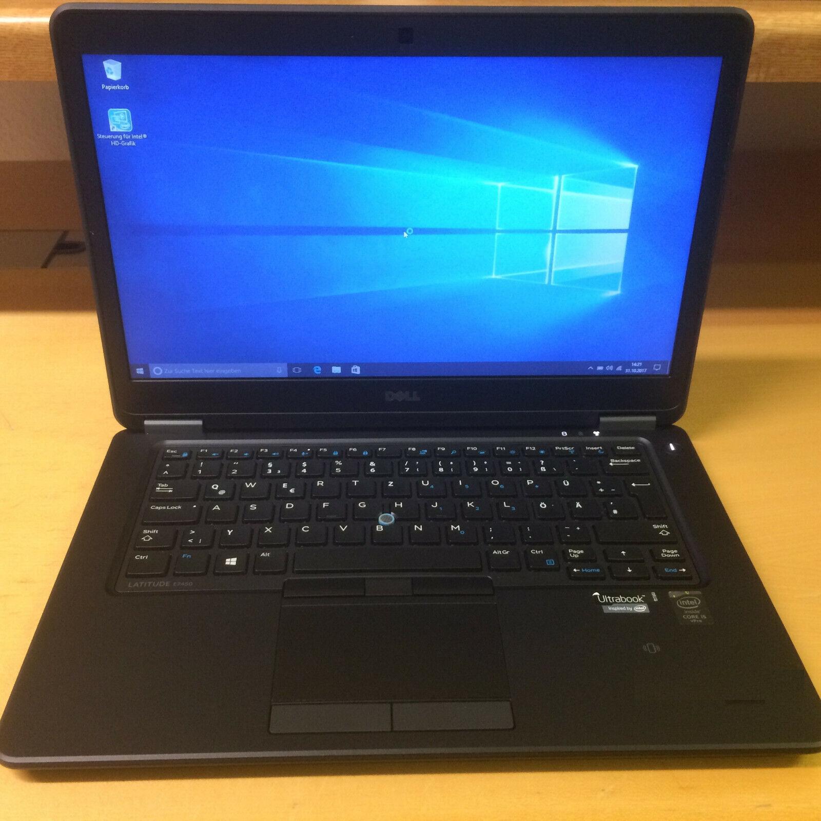 Neopren Tasche Schutzhülle Reißverschluss für Dell Latitude 7480 14 Zoll Laptop